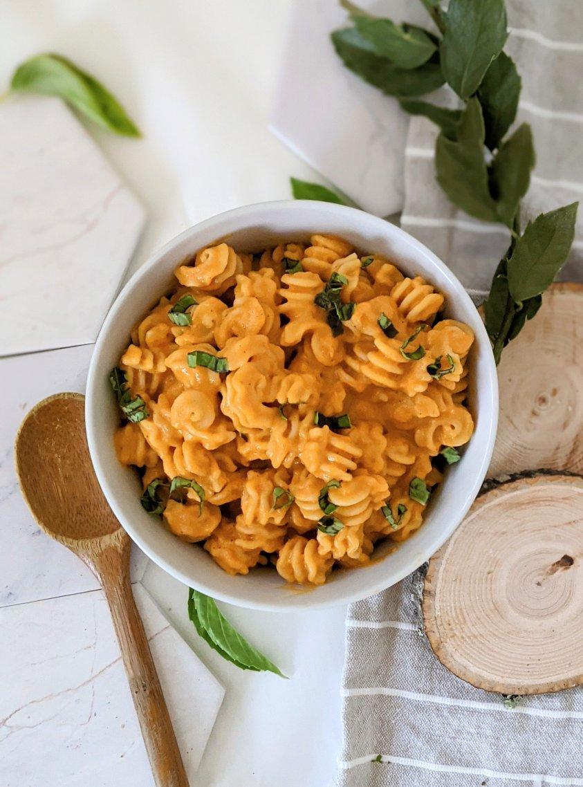 nut free creamy tomato sauce pasta recipe vegan dairy free tomato cream sauce for pasta healthy roasted tomato sauce no dairy