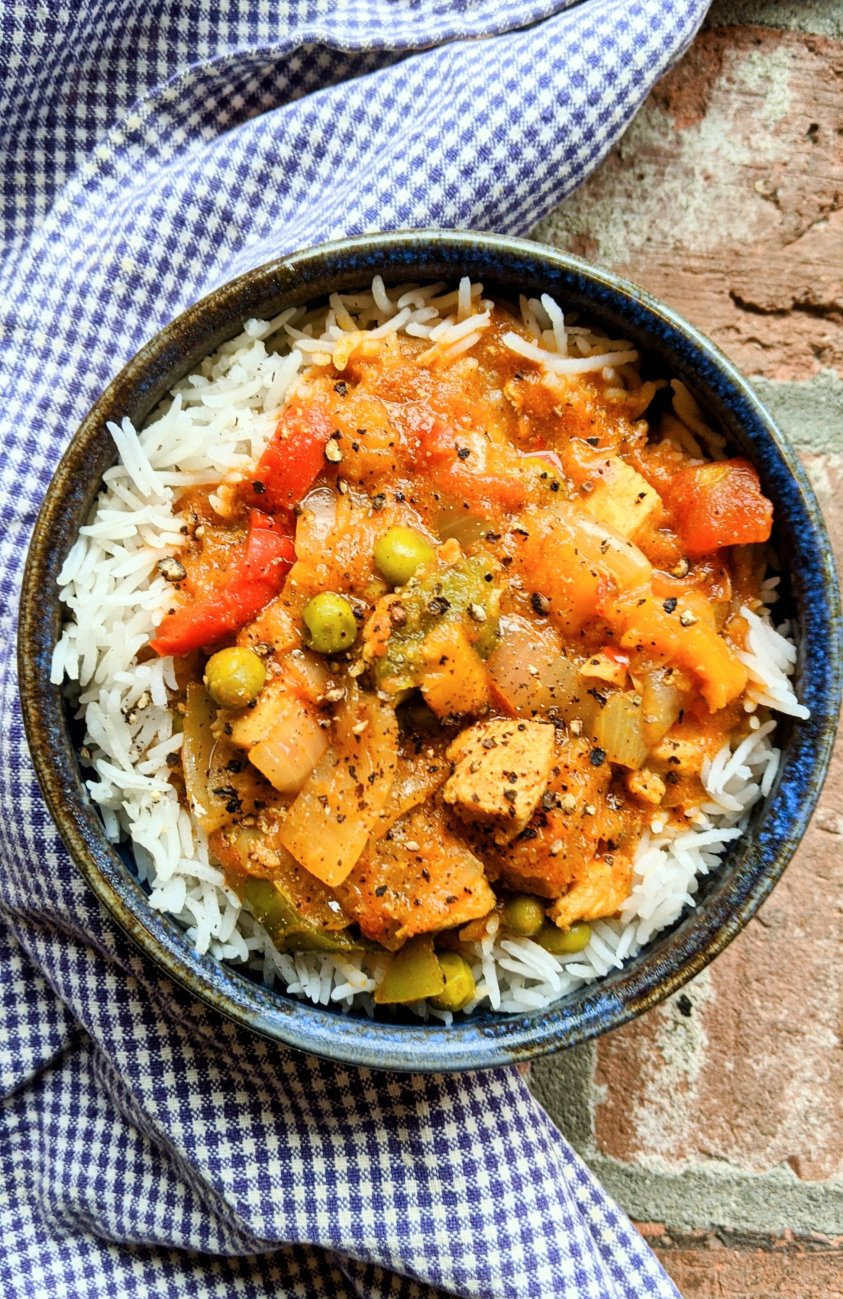 dairy free chicken dopiaza recipe indian onion curry with chicken high protein low carb keto indian recipes healthy homemade vegetable white meat curry dupiaza