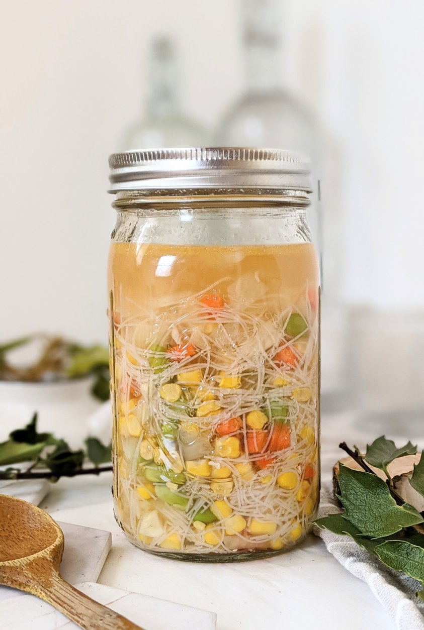just add water soup recipes mason jar instant ramen noodle soup healthy vegan gluten free easy lunches to meal prep, batch cook, or make ahead for the week veganuary vegetarian meatless