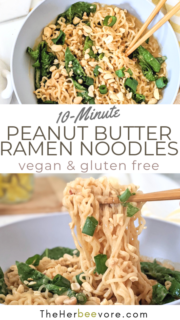 peanut ramen noodles vegan gluten free healthy ramen hacks add peanut butter to ramen transform ramen noodles into healthy dinner add ins to ramen