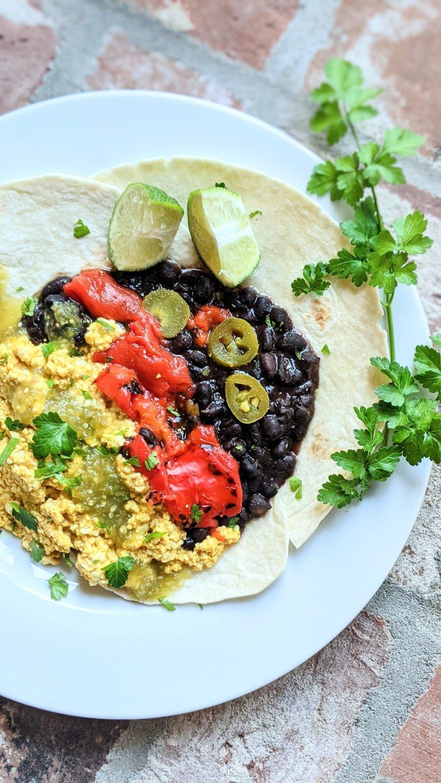 vegan huevos rancheros recipe gluten free huevos ranchers with tofu high protein mexican breakfasts plant based egg scramble southwest flavors healthy