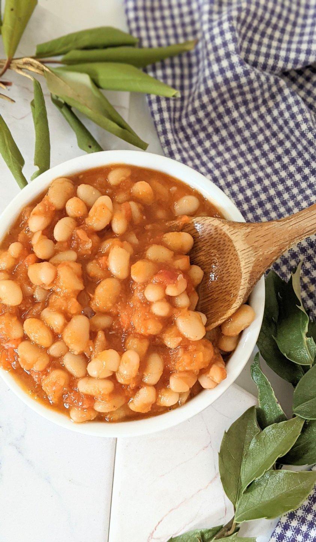 plant based english baked beans for breakfast recipe vegan gluten free heinz beans copycat recipe plant based beans for breakfast low sodium low sugar baked beans recipe