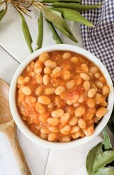 vegan british baked beans recipe vegetarian english baked beans for full english breakfast healthy low sodium heinz beans copycat recipe