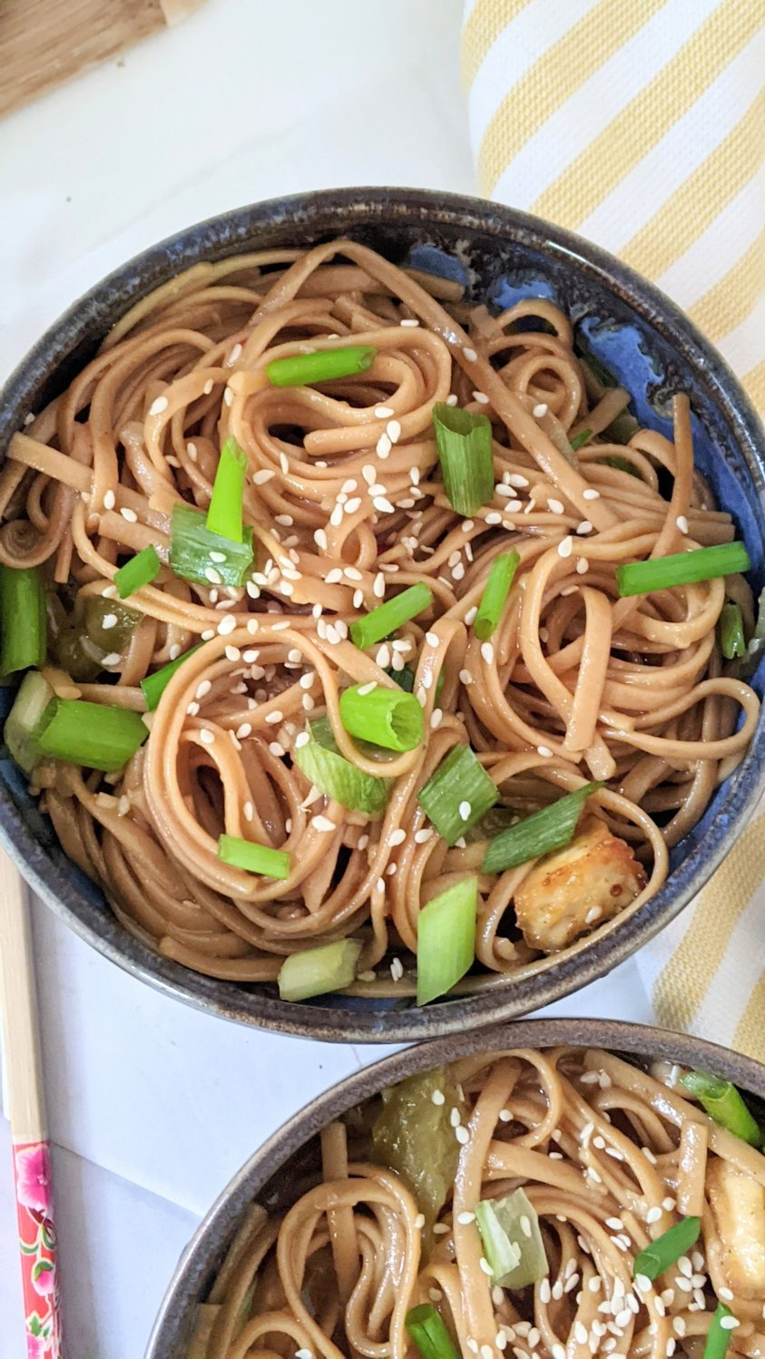 easy weeknight noodles recipe asian honey garlic pasta recipe vegetarian pressure cooker noodles recipes instant pot best pastas for dinner for busy families
