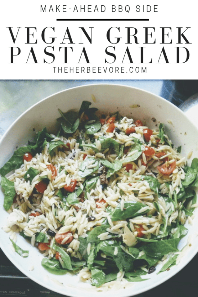 vegetarian greek pasta salad recipe vegan dairy free tofu pasta salad with greek dressing healthy summer side dishes