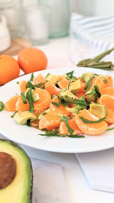 avocado fruit salad recipes orange and avocado salad plant based healthy citrus brunch salads for guests healthy breakfasts raw vegan paleo whole30 salad recipes gluten free vegan salads with oranges
