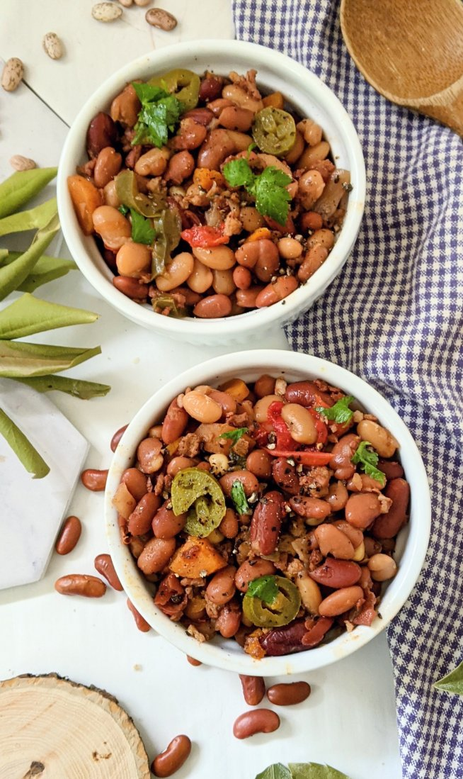 plant based cowboy beans recipe vegan instant pot summer beans recipe in the pressure cooker bbq sauce beans cowboy side dishes