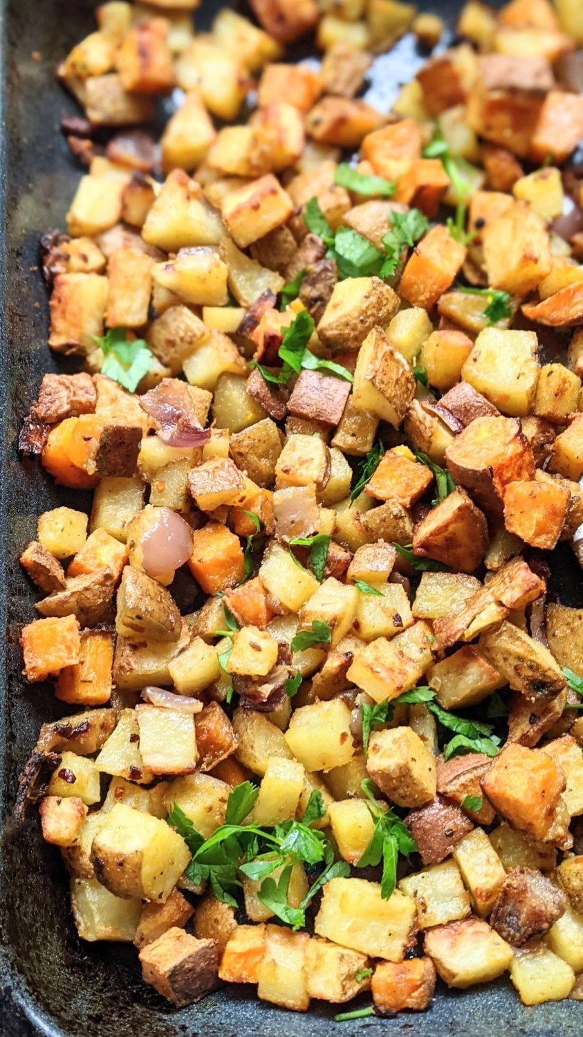 gluten free home fries recipe whole30 plant based breakfast recipes healthy root vegetable home fries simple flavorful brunch ideas paleo
