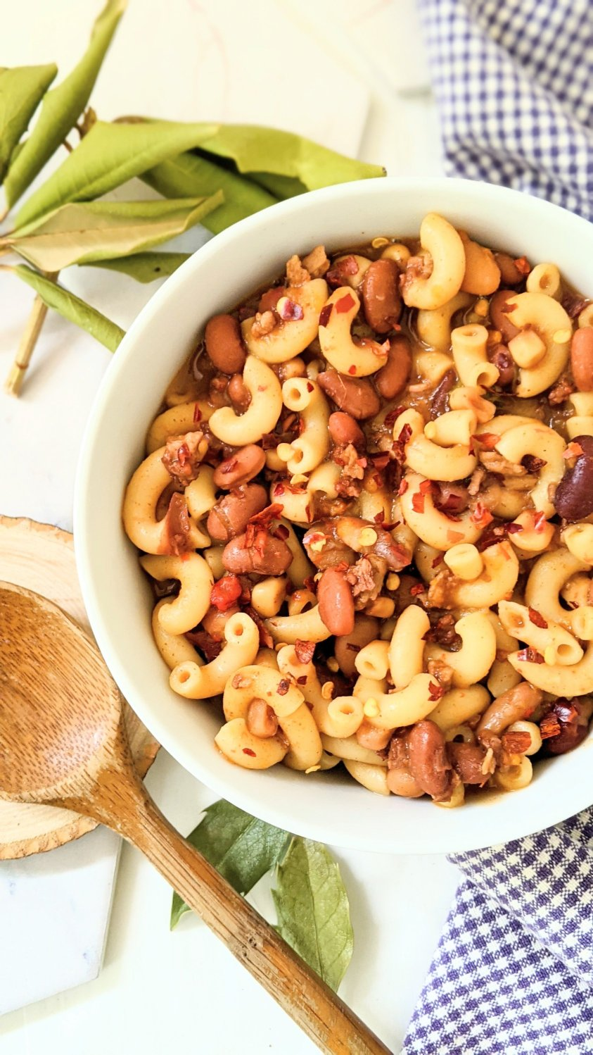 vegan cowboy pasta recipes how macaroni noodles and beans for dinner cowboy recipes vegan gluten free dinner ideas with pantry staple beans and noodle dishes for dinner