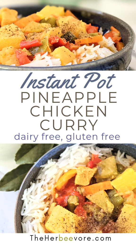 turmeric chicken curry with pineapple instant pot recipes with chicken under 30 minute dinner ideas pressure cooker chicken breast healthy dinners with pineapple chicken curry pressure cook dairy free no gluten free