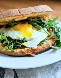 vegetarian pub cheese spread breakfast sandwich easy charcuterie brunch sandwich ideas with leftovers from a party or extra cheese board ingredients like soft spreadable cheese sandwiches recipe