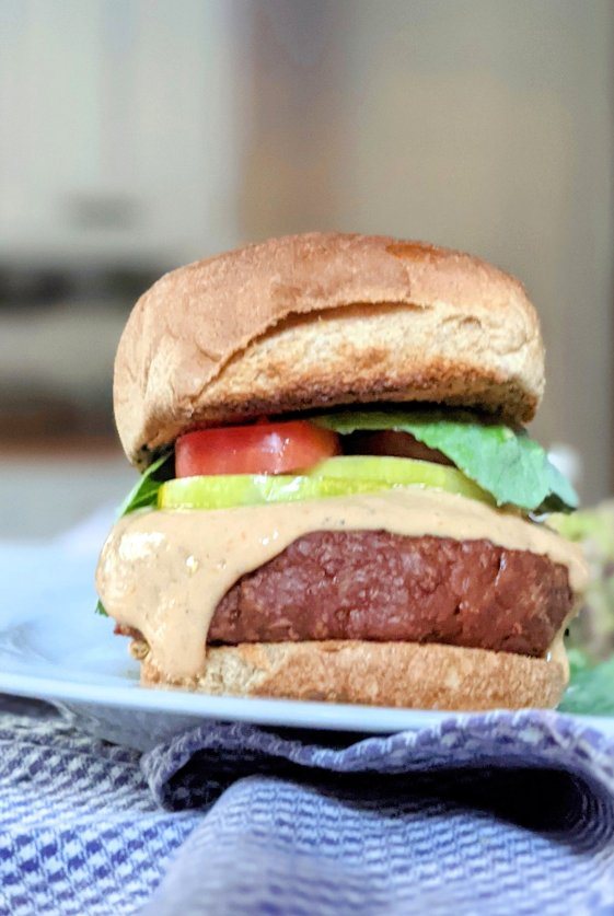gluten free copycat in n out recipes vegan california veggie burgers with special thousand island secret sauce homemade no mayo sauce for burgers