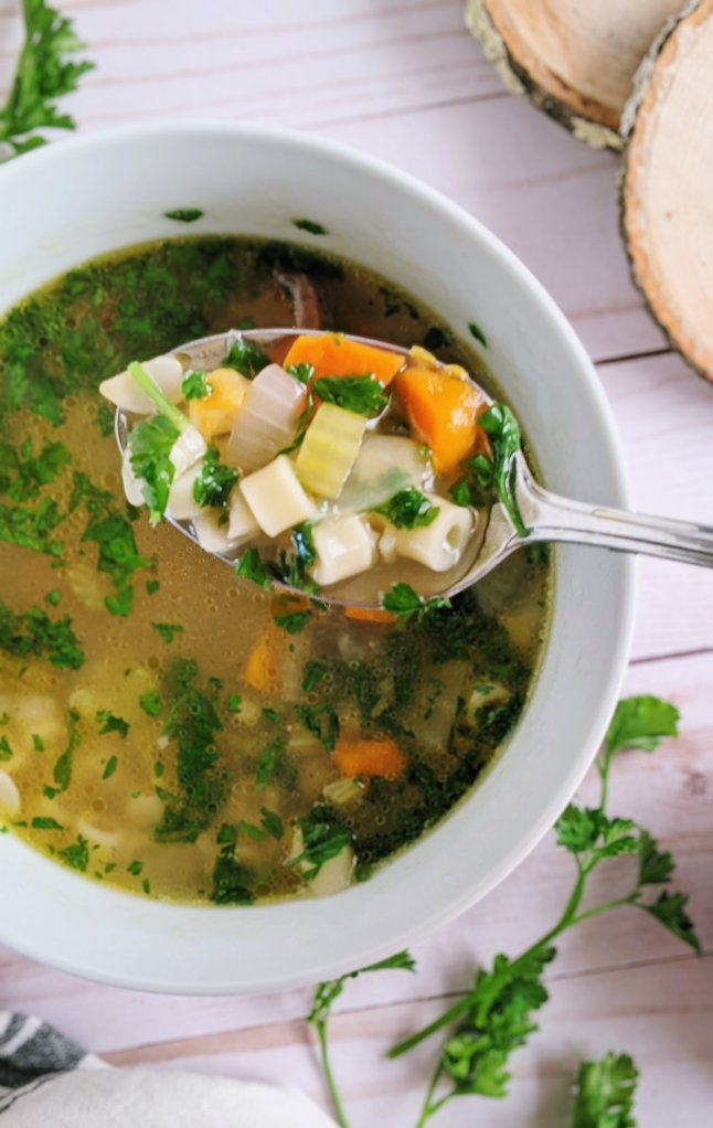 parsley noodles soup recipe vegetarian soup with parsley fresh soup ideas healthy gut friendly soups with parsley health benefits in soup