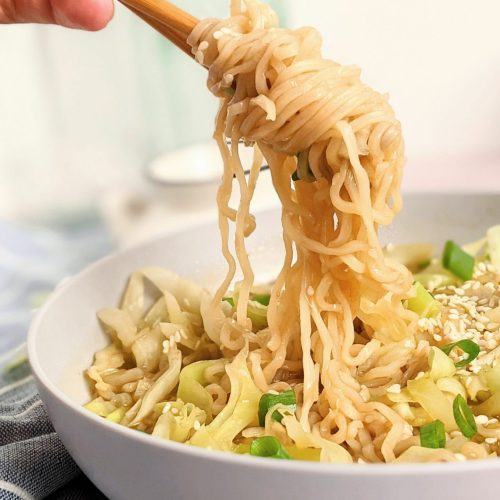 cabbage ramen noodles recipe with cabbage recipes for dinner with prepared soup add cabbage to noodles vegan gluten free