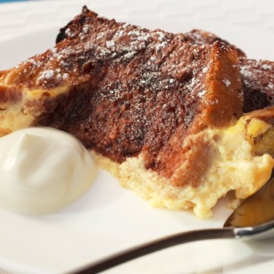 Chocolate Bread Pudding for Chocolate Monday!