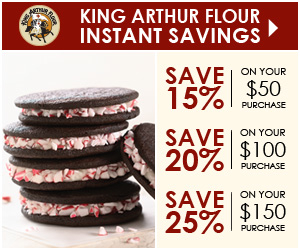 Special offer from King Arthur!