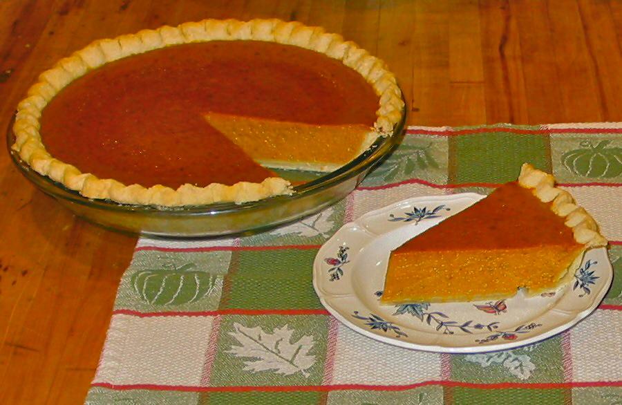 Silky Pumpkin Pie