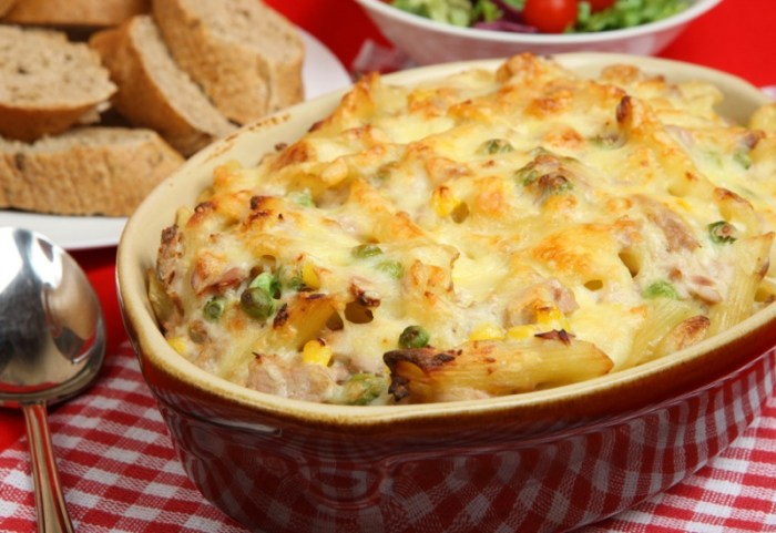 An Updated Classic Tuna Noodle Casserole The Heritage