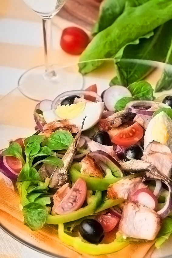 healthy and delicious niçoise salads • the heritage cook ®