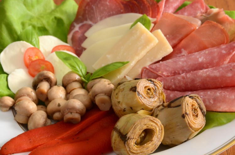 An italian feast for your next party mangia the Ina garten appetizer platter