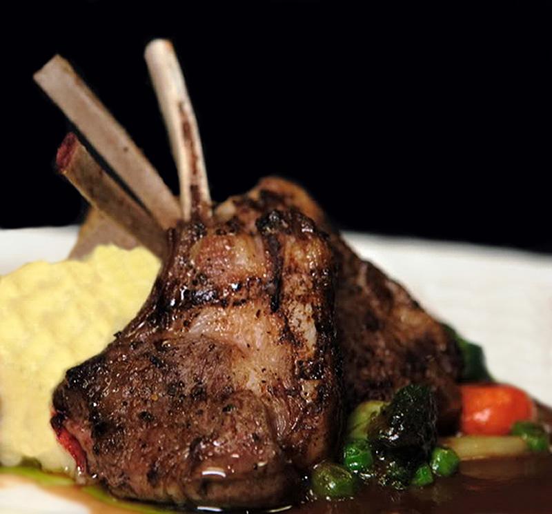 Rack of Lamb with Mustard-Rosemary-Lemon Pan Sauce for ...