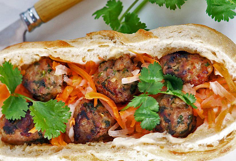 Banh Mi: Vietnamese Pork Meatball Sandwiches for Festive ...