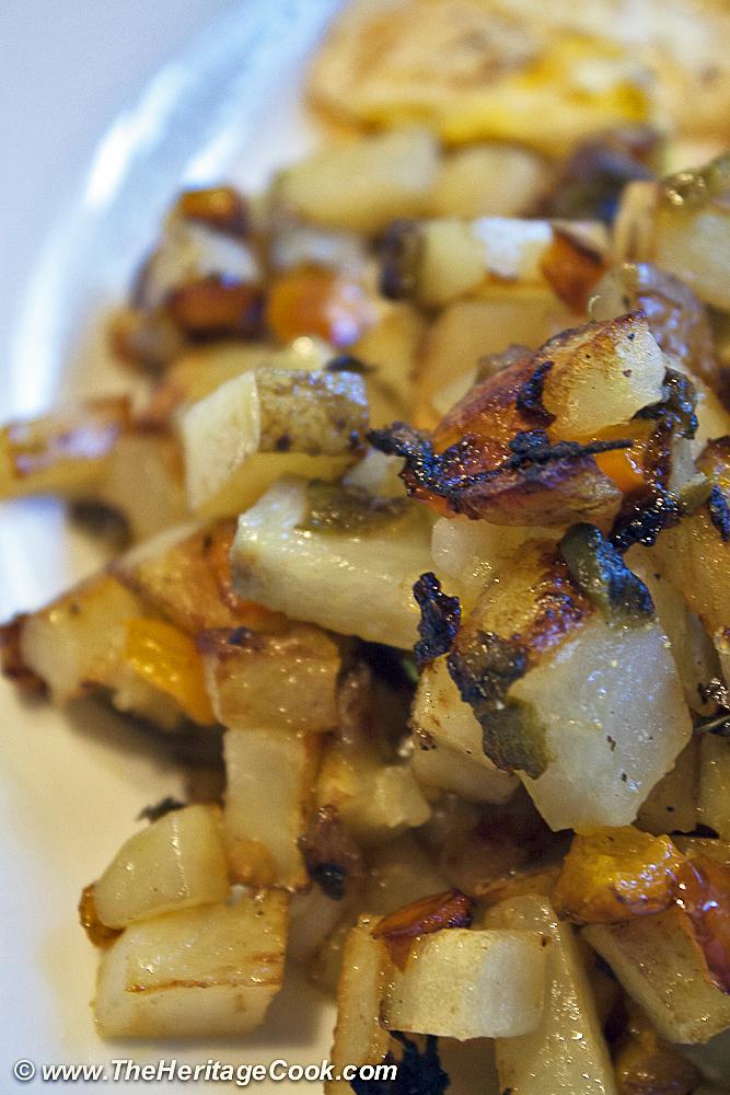 Home Fries-Herbivoracious copyright Jane Bonacci, The Heritage Cook