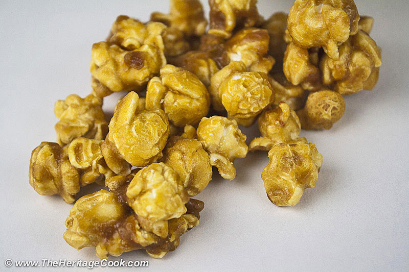 Artisan-Candies-Caramel-Corn copyright 2012 Jane Evans Bonacci, The Heritage Cook