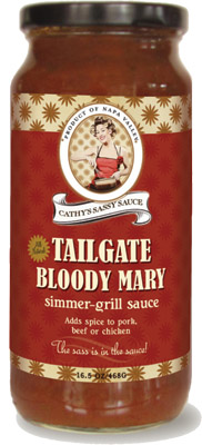 Cathy's Sassy Sauce is part of the Gift Basket in today's Giveaway!