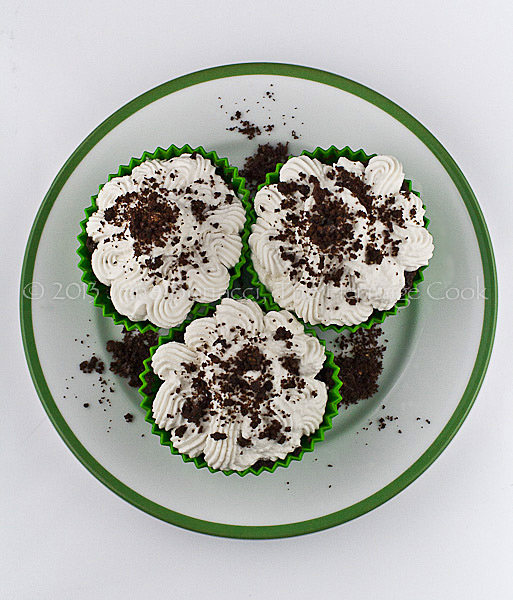 A cupcake shamrock!