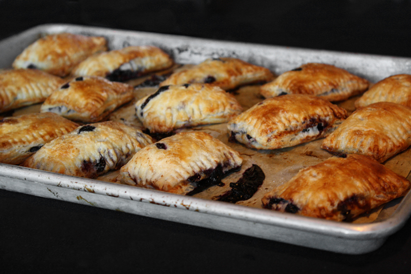 Sheet of Baked Turnovers 2011