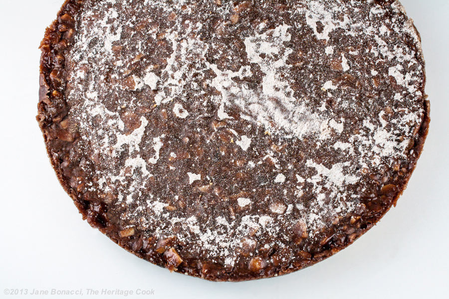 Chocolate Panforte from The Heritage Cook