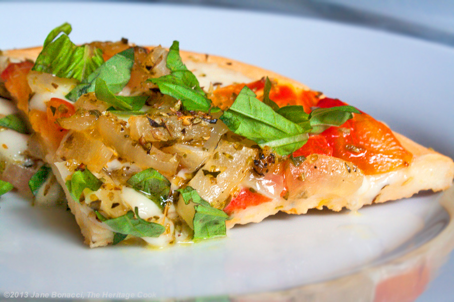 Caprese-Salad-&-Pizza