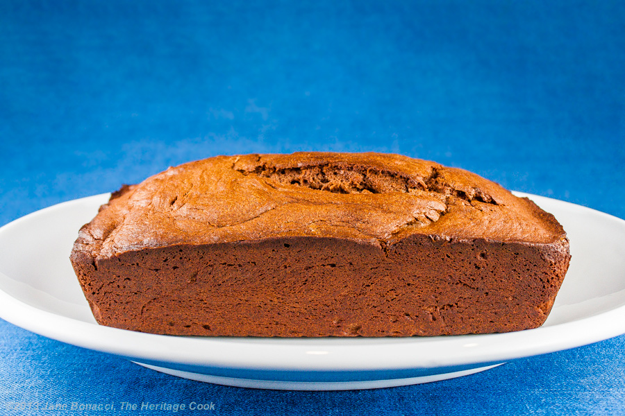 Chocolate Pound Cake With Kahlua Glaze