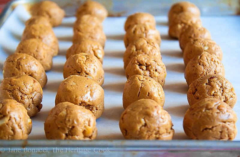 Peanut Butter Truffles; 2013 The Heritage Cook.com