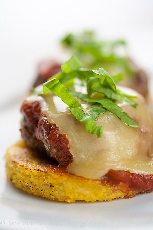 Gluten-Free Italian Sliders for #ComfortFoodFest; © 2014 Jane Bonacci, The Heritage Cook