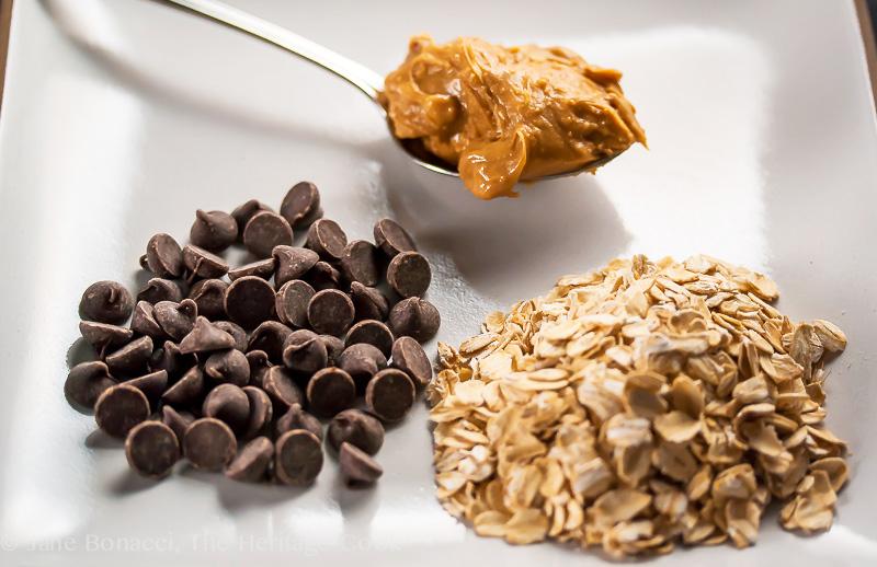 PB-Oatmeal-Choc Chip Cookies; 2014 Jane Bonacci, The Heritage Cook