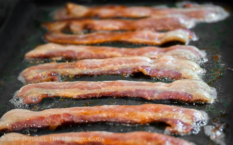 Potato, Bacon & Poblano Casserole; 2014 Jane Bonacci The Heritage Cook