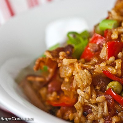 Tex-Mex Rice with Bacon