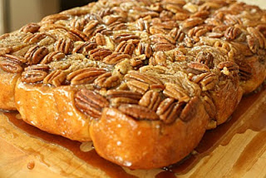 Chef Tricia S Caramel Pecan Rolls The Heritage Cook