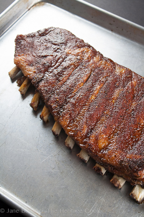 Melt In Your Mouth Ribs; 2014 Jane Bonacci, The Heritage Cook