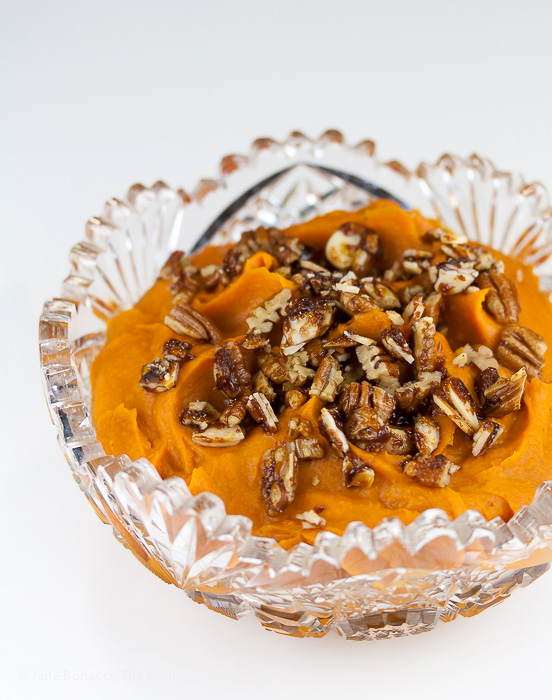 Make the maple whipped sweet potatoes part of your Thanksgiving feast and listen to the applause!