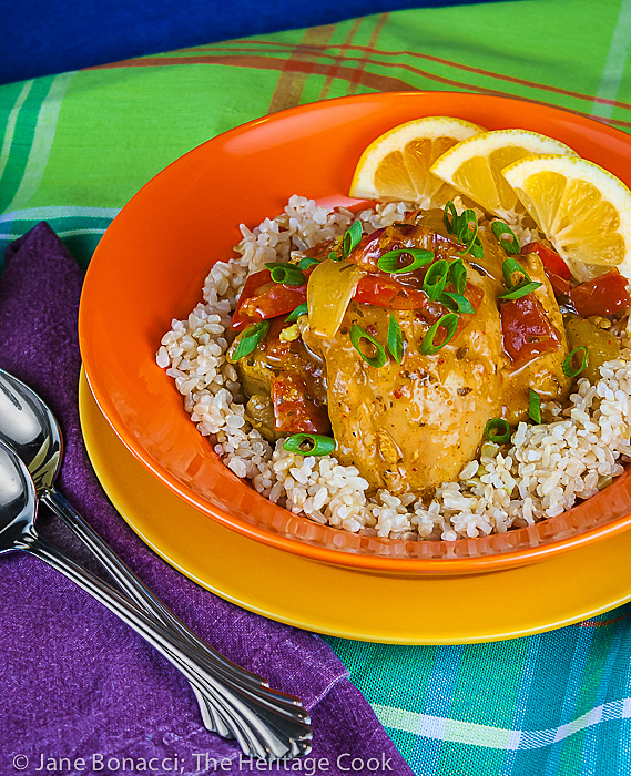 Brazilian Chicken Stew, a new spin on an old favorite with a sauce so good you need rice or potatoes to sop it all up!