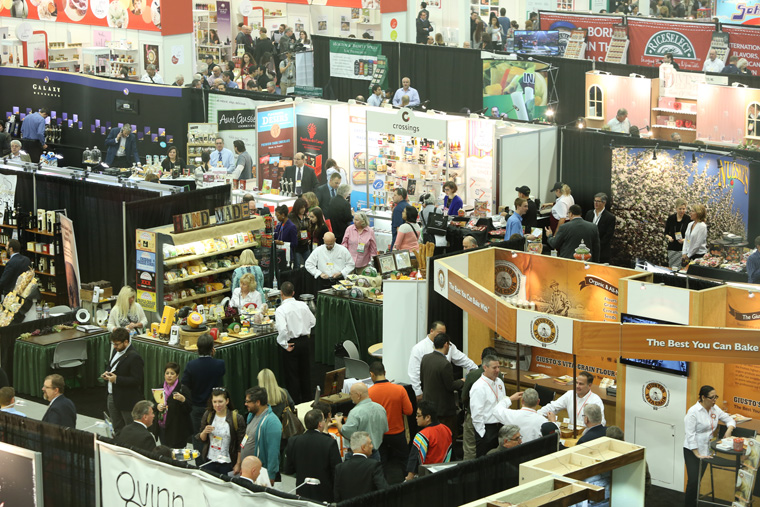 Crowds at the Winter Fancy Food Show in San Francisco