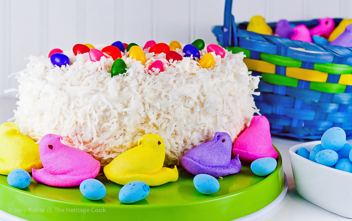 White Chocolate Coconut Cake For Easter Gluten Free The Heritage