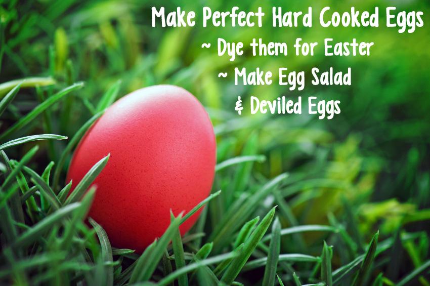 Making Perfect Easter Eggs & Deviling Them; 2015 Jane Bonacci, The Heritage Cook