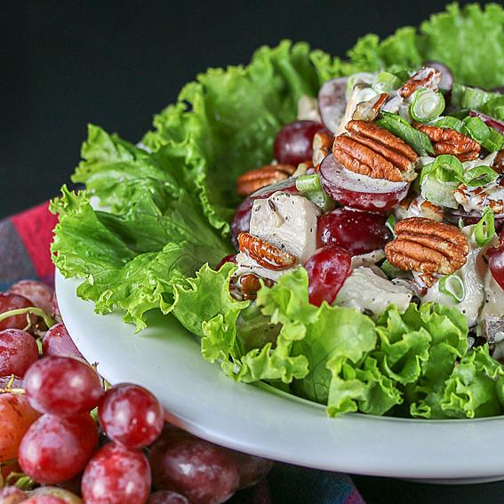 Smoked Chicken Salad; Jane Bonacci, The Heritage Cook 2019