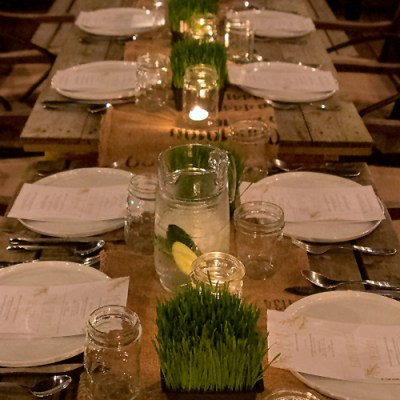 Urban Farm Dinner with Barn2Door at IFBC 2015