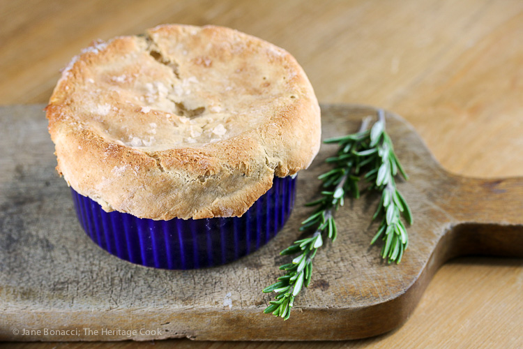 Old Fashioned Chicken and Vegetable Pot Pie; © 2016 Jane Bonacci, The Heritage Cook