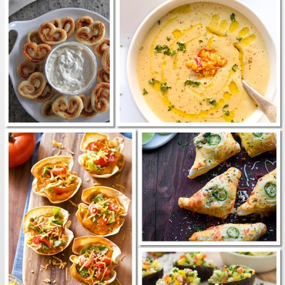 55 Super Appetizers for Super Bowl Sunday!